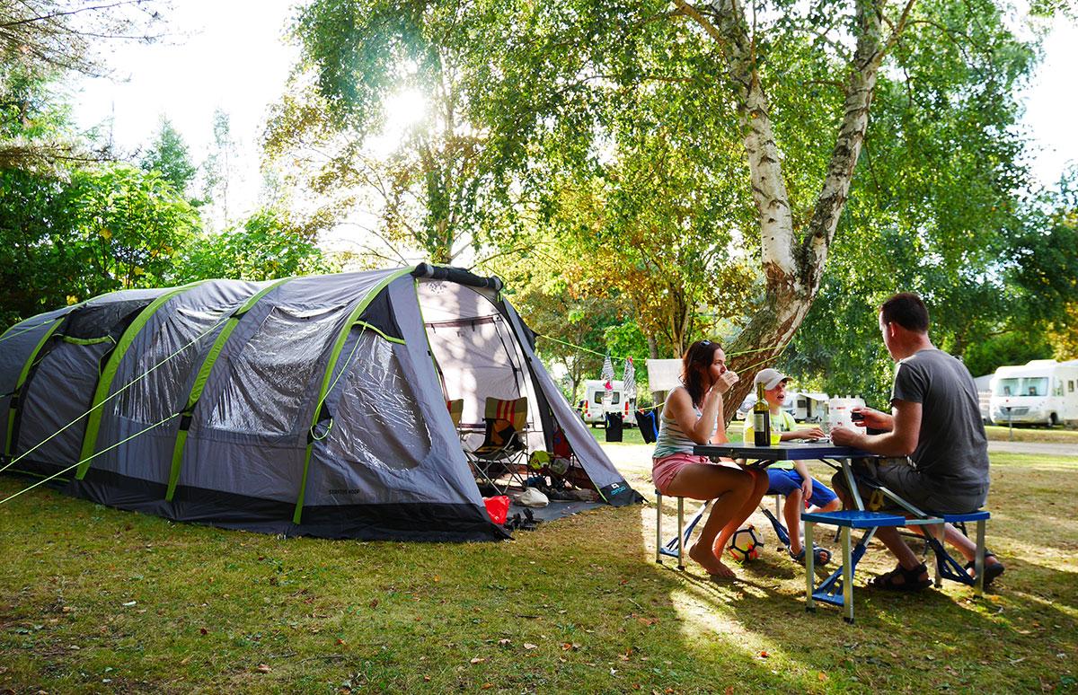 Pour tentes, caravanes, camping-cars